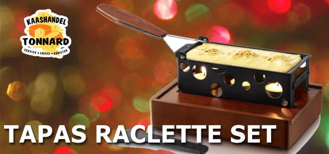 Tapas Raclette set
