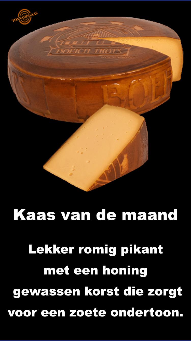 Boer'n Trots honing kaas